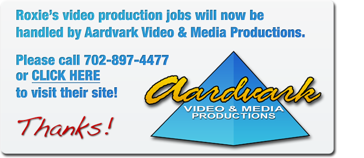 Visit www.aardvarkvideolasvegas for all of your las vegas video production needs!