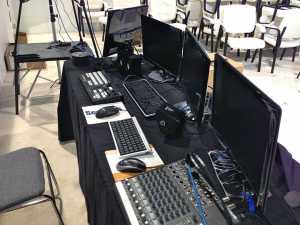 Tricaster-Setup---Samsung-Trade-Show-Video